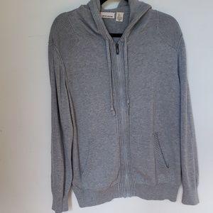 Men's DKNY zip-up sweater